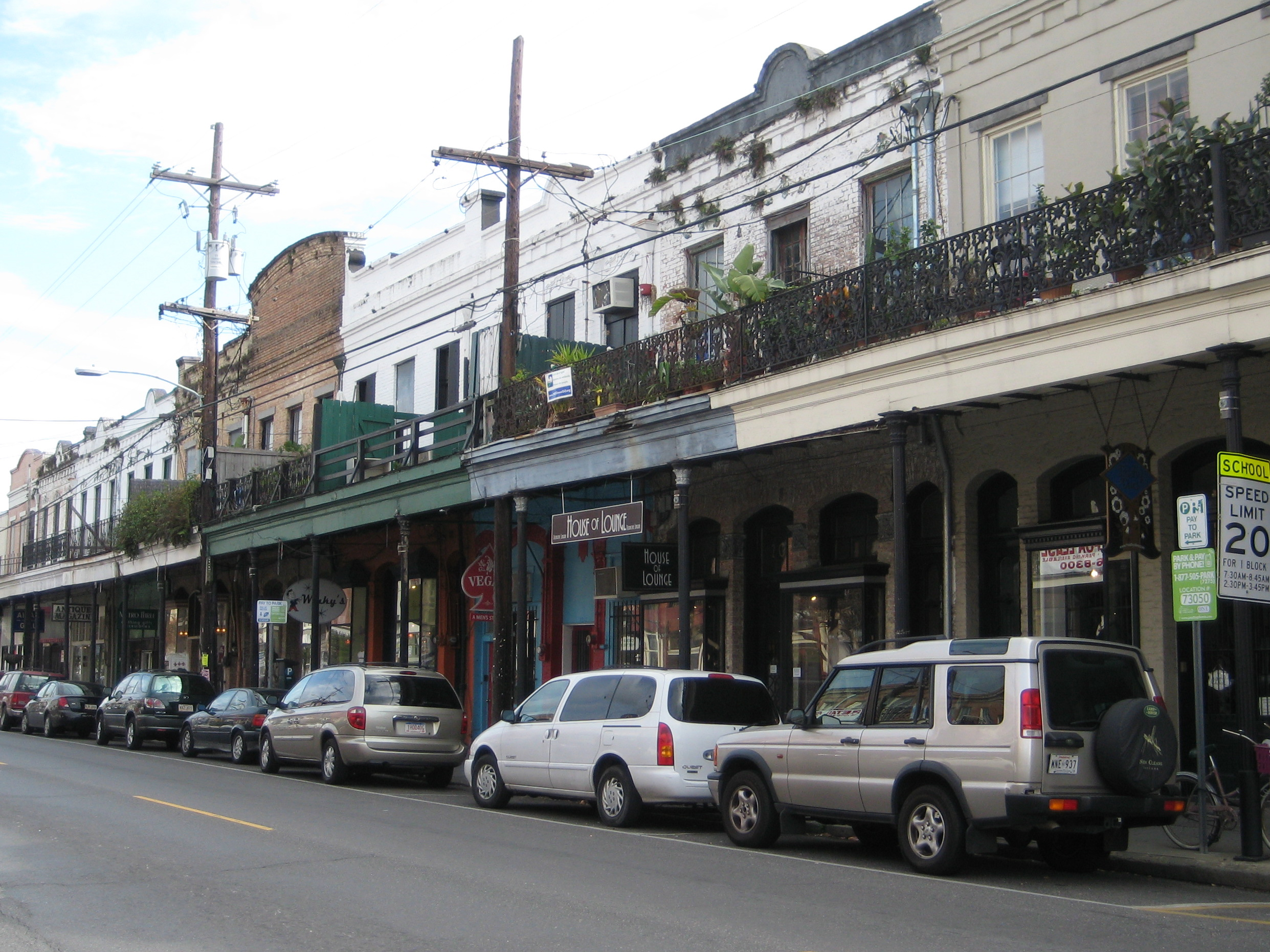Shops on Magazine St
