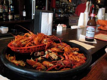 Crawfish at Frankie-Johnnys