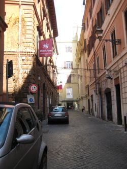 Rome - Side St 1
