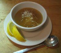 Chicken Soup w parm