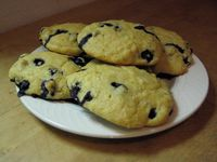 Lite Blueberry scones