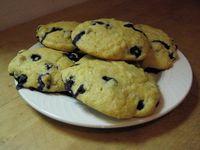 Lite Blueberry scones
